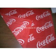 Doppelklicken Seiten gedruckt Coca-Cola-Fleece-Decke (SSB0135)