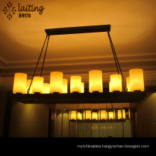Wholesale Factory manufacturing hanging lamp iron crystal chandelier pendant lights celling lights