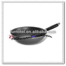 S213 Dia 280mm/ Dia 300mm/ Dia 320mm Aluminium Alloy Non-stick Stir Fryer