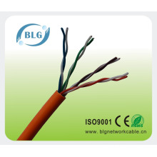 Facoty price Solid copper cat5 cable for LAN communication