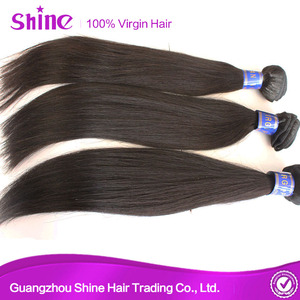 Unprocessed Peruvian Straight Virgin Remy Hair Extensions