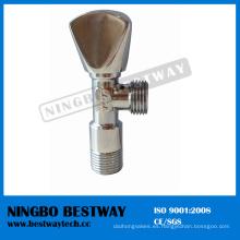 Stock de válvula de ángulo de lavabo de latón (BW-A21)