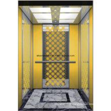 Miroir d'ascenseur de maison d'ascenseur d'ascenseur de passager gravant Hl-X-045