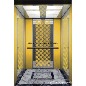 Passagier Aufzug Lift Home Aufzug Spiegel Radierung Hl-X-045