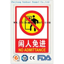 Эмаль Индивидуальные Предупреждающие Знаки Безопасности