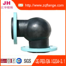 90 Degree Rubber Elbow / Flanges