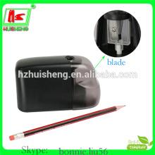 Máquina de apontar lápis plástico, apontador de bateria