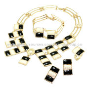 Fashion jewelry sets, rings, earrings, bracelets, necklace, OEM orders are welcome