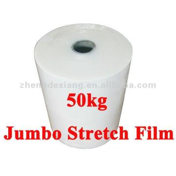 Film étirable Jumbo de 50kg en plastique d'emballage de palette