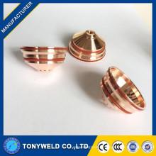 Vendez de bonnes pièces de coupe au plasma 220674 45A bouclier d'électrode de buse