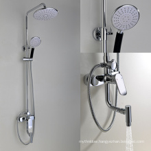 Bathroom Rainfall Shower Panel Wall Mounted Shower Faucet