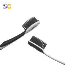 Leading Manufacturer for Adult Tooth Brush Bamboo Charcoal Black Bristle Toothbrush export to Bosnia and Herzegovina Manufacturer