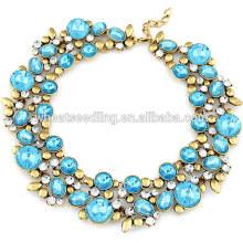 Los últimos diseños de collares de piedras preciosas de joyas