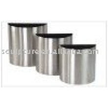 stainless steel abstract garden flowerpot