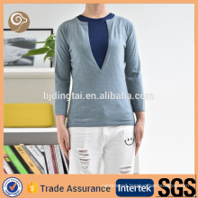 China knitted cashmere sweater for women