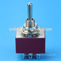 MTS-302 6A 6MM 3PDT 9Pin ON-ON Remplacer l'interrupteur à bascule standard NKK