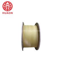 Fil d'enroulement recouvert de fibre de verre plat pour générateur