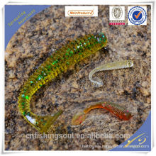 SLL054 silicone shad fishing lures lure factory