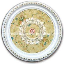 Cheap Plastic Ceiling Medallion for Restaurants (BRRD80-T-081)