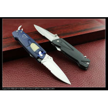 "7.5"" Folding Knife with Light and Opener (SE-138)"