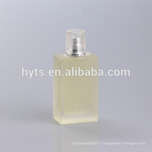 100ml perfume frosted glass bottle with pump