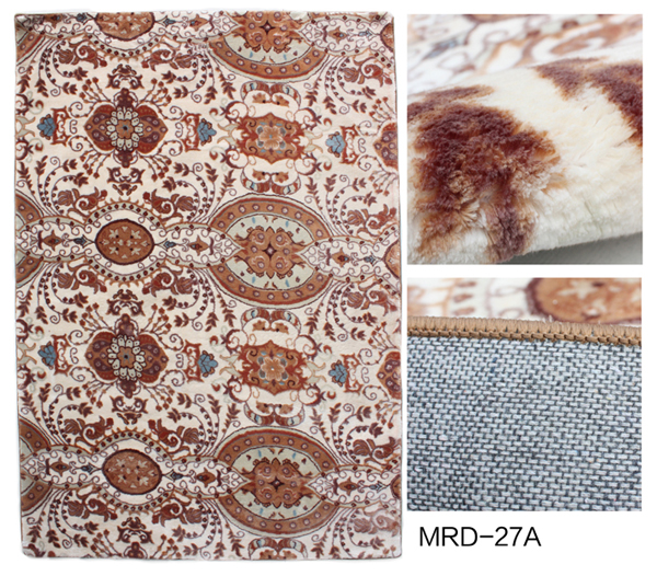 Polyester Wall To Wall Embossing Mink Carpet