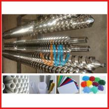Bimetallischer paralleler Doppelschneckenzylinder für PVC-Extrusionsmaschine