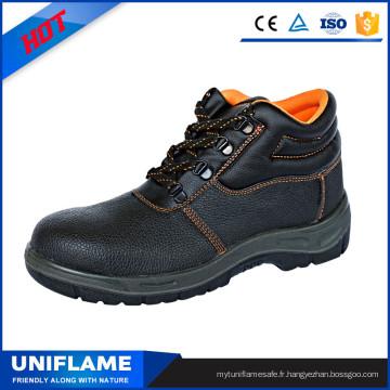 Chaussures de sécurité en acier à bout boutonné