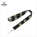 """Durable Washable One Inch 1"""" Thick Falt Polyester Woven Lanyard"""