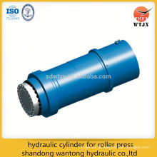 Cilindro hidráulico para prensa de rolos