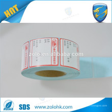 supermarket weighing scale label adhesive label thermal sticker roll