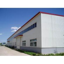 Atelier approuvé de cadre en acier préfabriqué