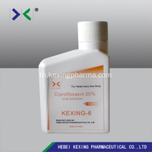 Ciprofloxacin Oral Solution 10%