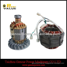 1kw 2kw 2.5kw 2.8kw 3kw 4kw 5kw 6kw cepilló el motor de cobre eléctrico para el motor de la monofásico del generador (GGS-EMT)