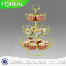 3-camadas 13PCS metálica Cupcake Stand