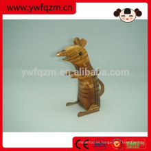 Besttselling madera animal talla de madera ratón