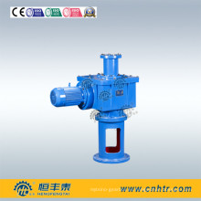 Reductor del agitador del mezclador de la superficie del engranaje duro de la conexión de brida vertical de dos etapas Lfy