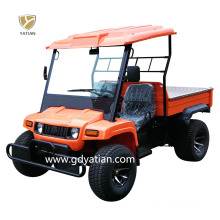 Top Quality Four Wheel Agricultural 5kw 48V Electric Utility Vehicle Farm Truck