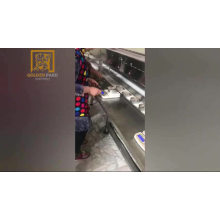 Закаточная машина для сардин с автоматическим взвешиванием