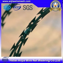 Hot Dipped Galvanized Razor Iron Wire for Security Fence with SGS