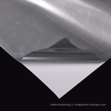 Film réfléchissant gris argenté pour l'impression par transfert de chaleur