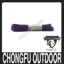 Nylon de haute qualité 550 Paracord Rainbow Paracord 7 Core