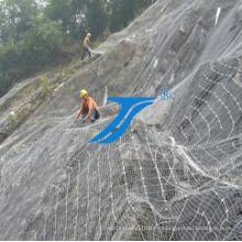 Cercas de malla de alambre de protección flexible Ts-Sns