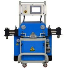 Polyurethan-Spritzschaummaschine mit hydraulischer Isolierung