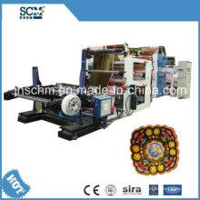 OPP / PP / ПВХ / PE композитных материалов горячего тиснения фольгой машина