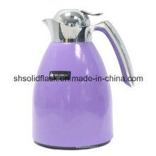 Potenciômetro / chaleira de aço inoxidável do café do vácuo de Solidware com reenchimento de vidro