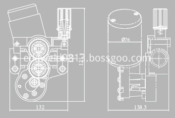 DC28V Welding Wire Feeder Assembly