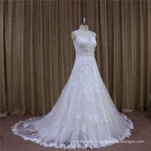 Belle à la mode faite par la robe de mariée de mariée usine de beauté