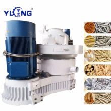 Air cooling system wood pellet machine
