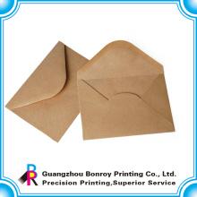 kostenlose Probe benutzerdefinierte Luxus Kraftpapier Umschlag Drucken